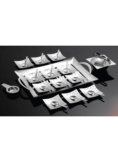 Dalmaçya Mat 40 Parça Çay Seti-Narin